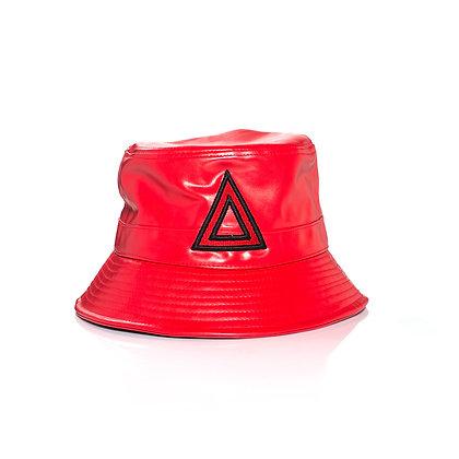 RED & BLACK BUCKET HAT