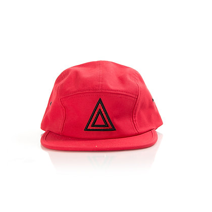5 PANEL RED