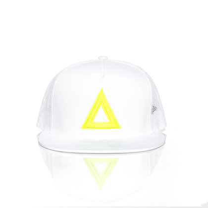 WHITE & NEON YELLOW TRUKER