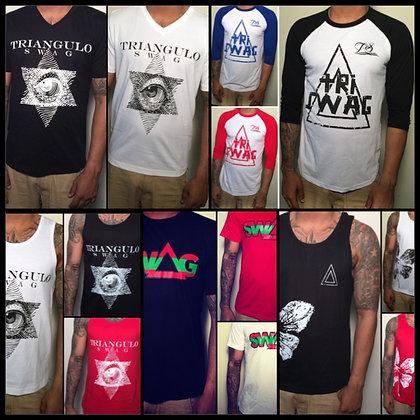5 shirt combo