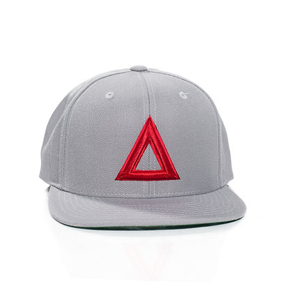 GREY & RED TRIA SOLID
