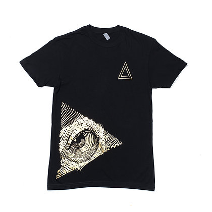 WHITE LEFT EYE TEE