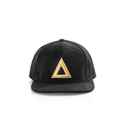 SUEDE BLACK & GOLD