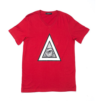 RED TRIANGULO TEE