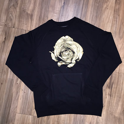 GOLD ROSE CREW NECK