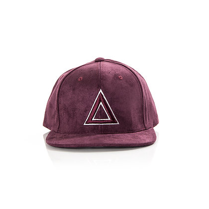 SUEDE BURGUNDY WHITE