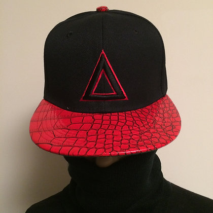 BLACK RED CROC (SOLD OUT)