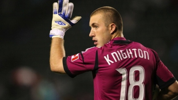 Brad Knighton New England Revolution Umbro