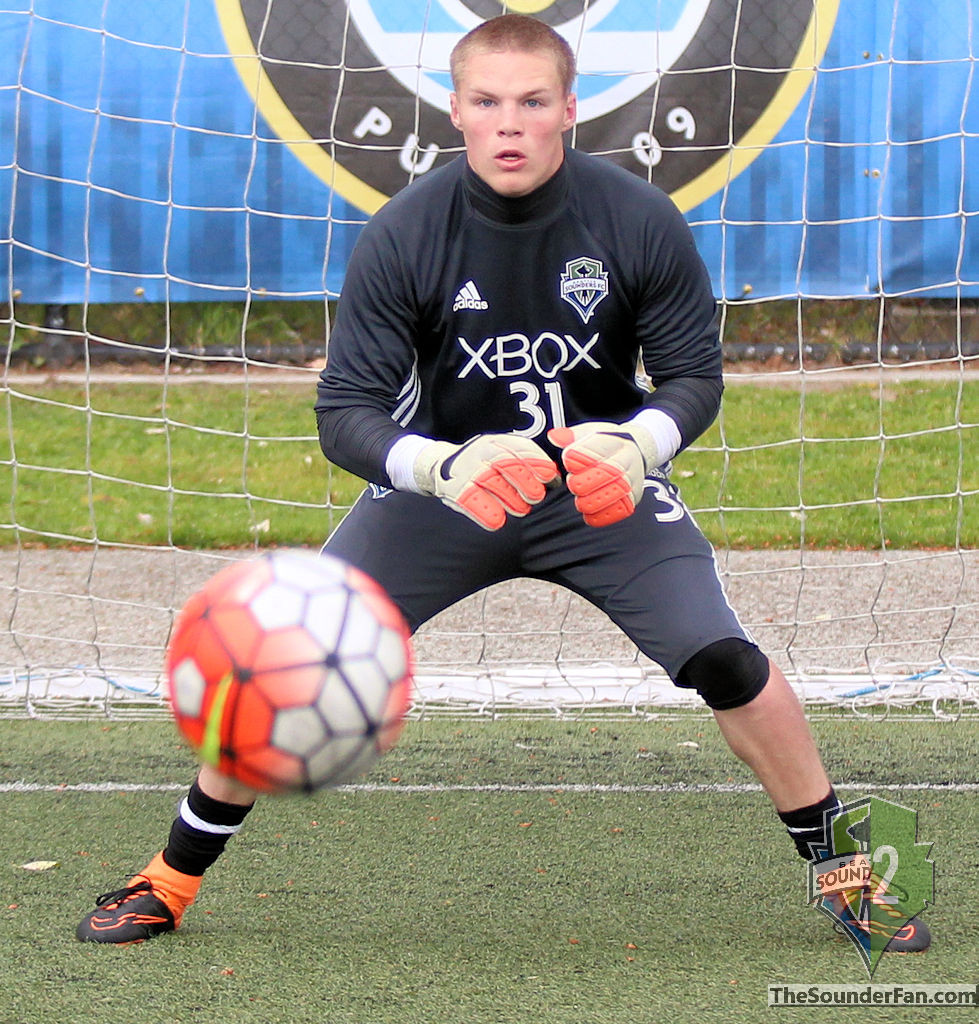 Paul Christensen Seattle Sounders Academy