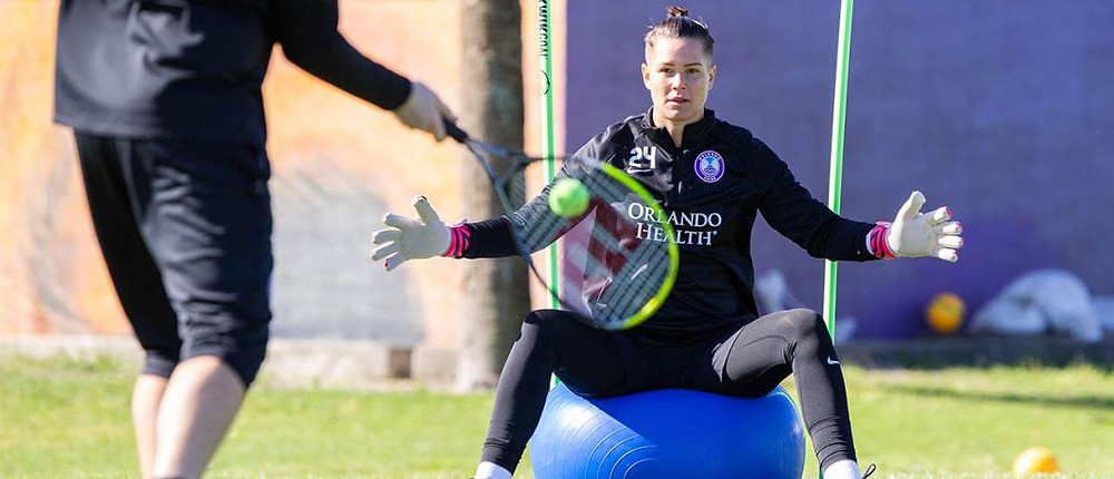 Ashlyn Harris In Training