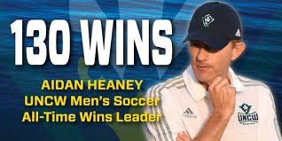 Aidan Heaney UNCW Men's Soccer