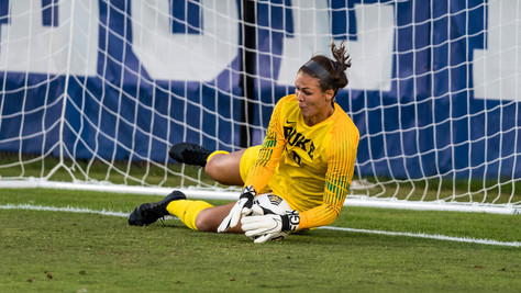 Learning how to ignore the outside noise with Duke University standout goalkeeper Ruthie Jones.