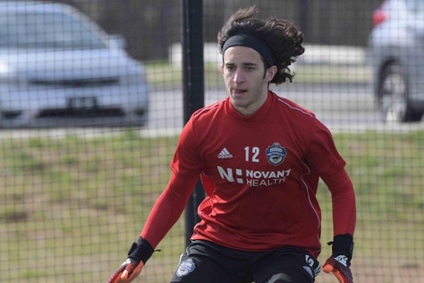 Learning to be independent...the important lessons so far for Real Salt Lake academy goalkeeper Luca