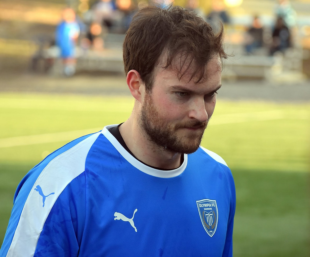 Davis Smith goalkeeper Stumptown AC