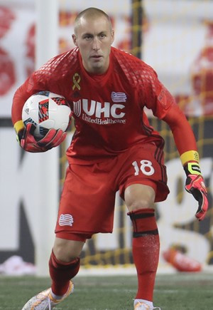 Brad Knighton New England Revolution