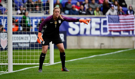 Continue to learn and grow...a look inside the mind of World Cup veteran Alyssa Naeher!