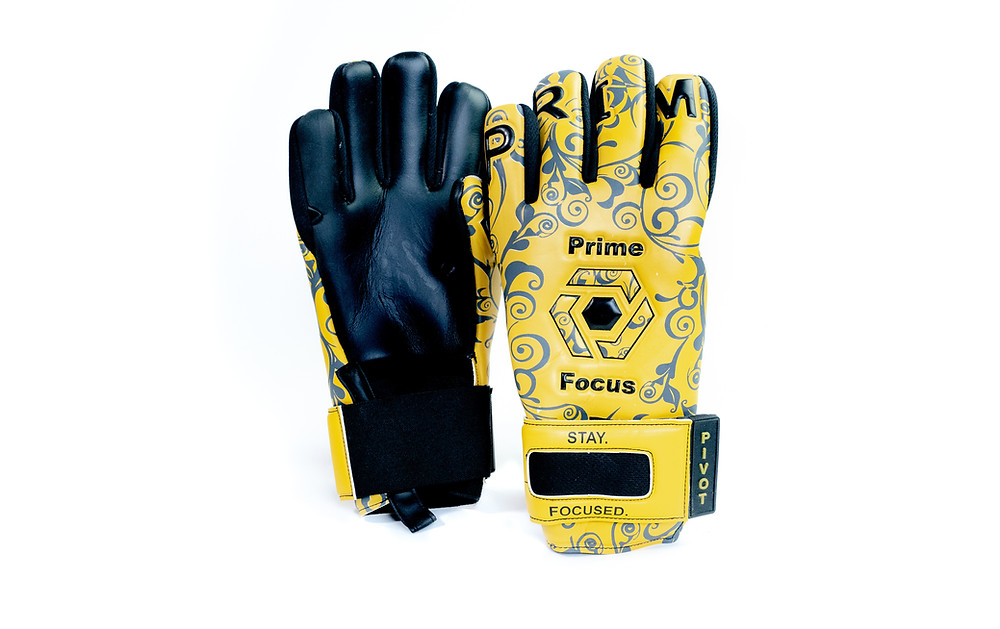 Pivot Maize Prime Focus Goalkeeping Goalkeeper Glove