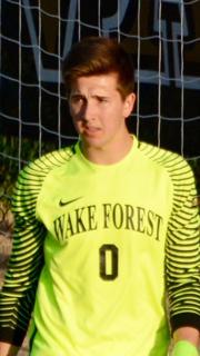 Wake Forest Goalkeeper