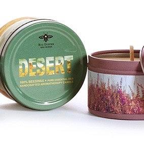 Desert Mini tin Candle 1.7oz