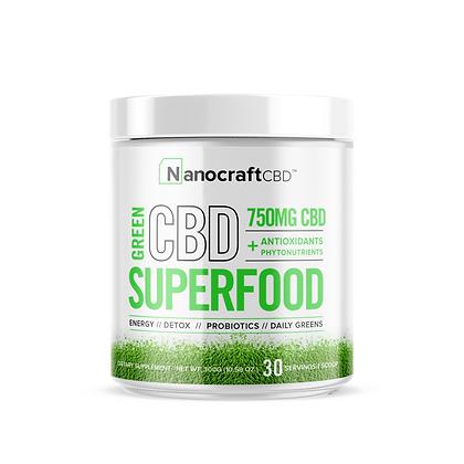 CBD Superfood Green Powder