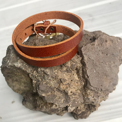 Minimalist Buckle Bracelet
