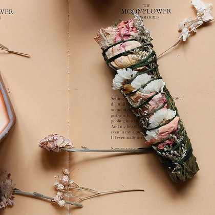 Floral Smudge Wand-Among the Flowers