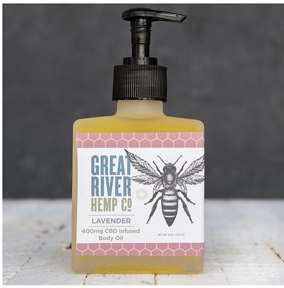 400mg CBD Lavender Body oil
