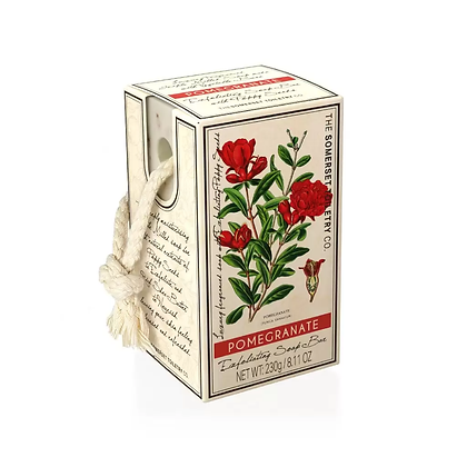 Exfoliating Soap On a Rope Pomegranate