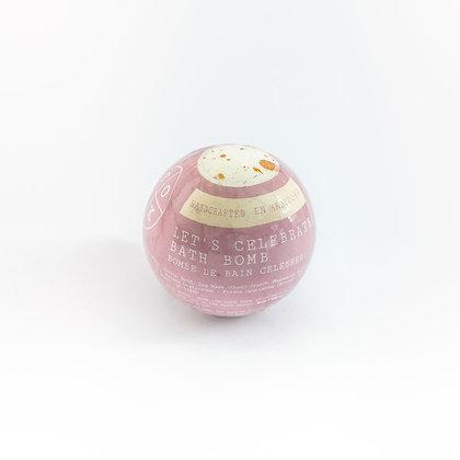 Let's Celebrate Bath Bomb (Margarita Scented)