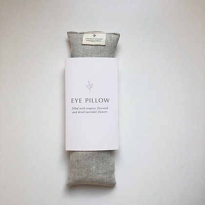 Handmade Linen Eye Pillow