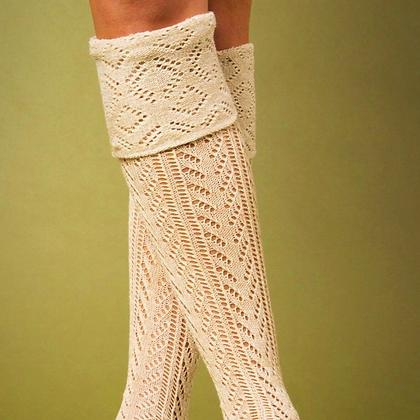 Weave it to me Tall Socks
