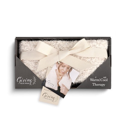 Warming Neck Wrap - Cream