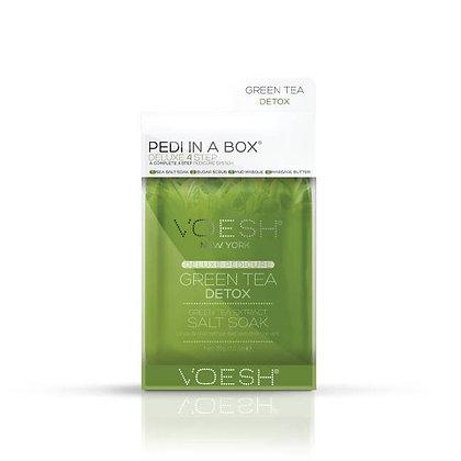 Deluxe 4 Step Green Tea Detox  Pedi in a Box