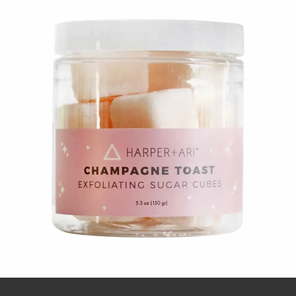 Champagne Toast Sugar Exfoliating Cubes