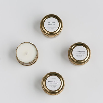 Midnight Garden Mini Soy Candle
