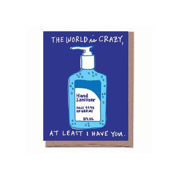 Hand Sanitizer Card
