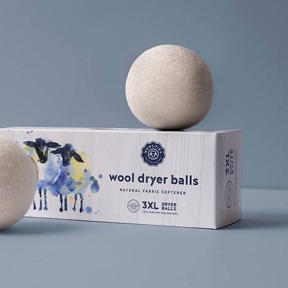 Wool Dryer Balls - Set of 3