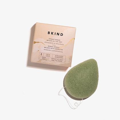 Konjac Facial Sponge - Green Tea