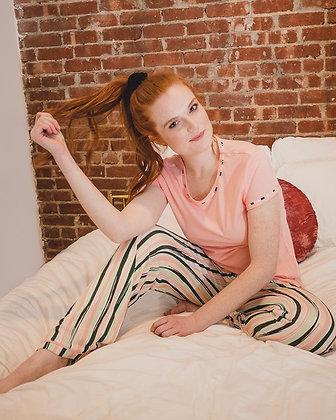Get Tropical T-shirt Pajama Set