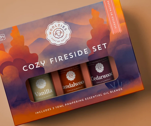 Cozy Fireside Essential Oil Collection
