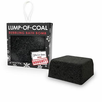 Lump o' Coal Bubbling Bath Bomb