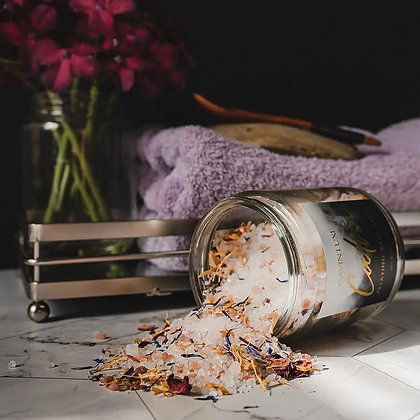 Calm Relaxing Bath Salts - Sweet Orange + Lavender