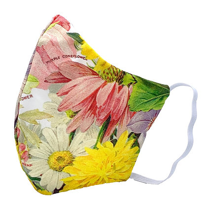 Garden Party Face Mask with Filter Pocket
