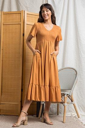 Jules V Neck Dress