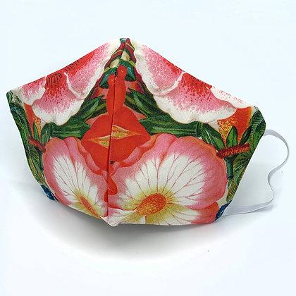 Flower Joy Face Mask With Filter Pocket