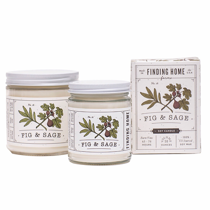 Fig & Sage Soy Candle
