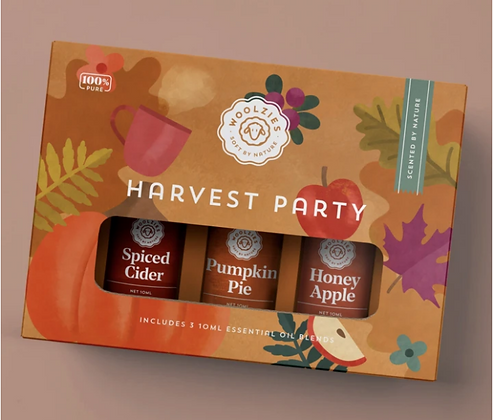Harvest Party Essential Oil Collection