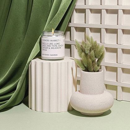 Farmers Market (Ginger & Meadow Grass) Candle