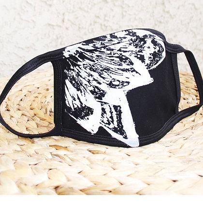 LOTUS Print 100% Cotton Face Mask, Washable & Reusable