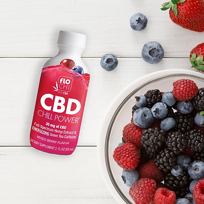 CBD Chill Power Energy – Mixed Berry with 30mg